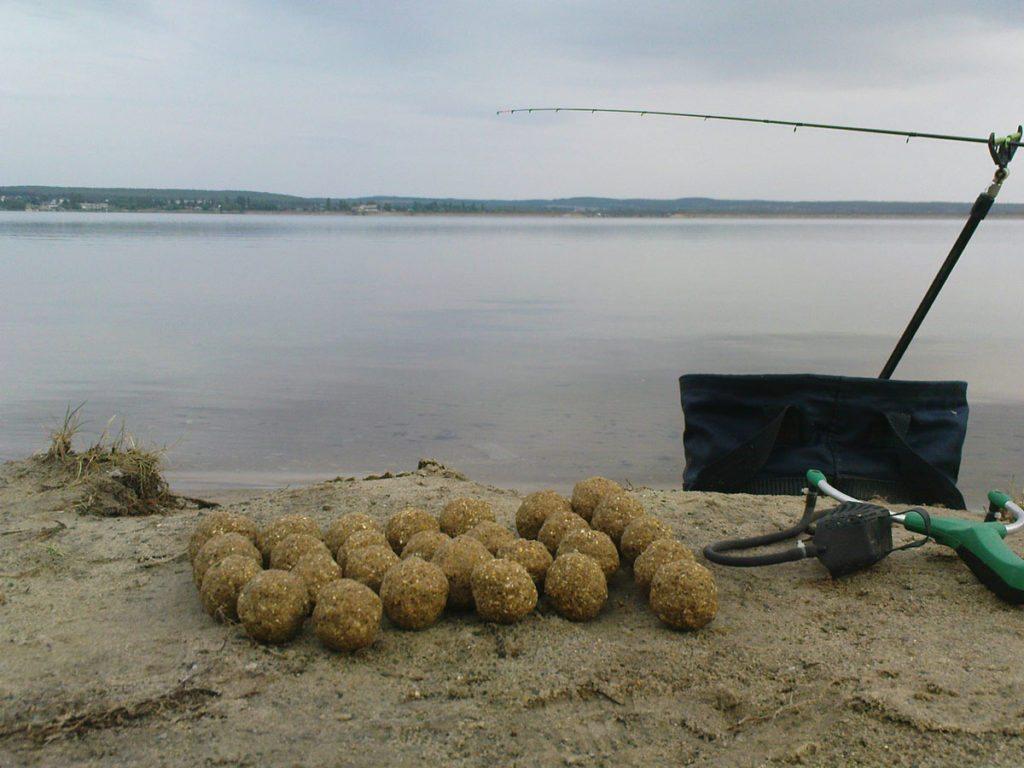 прикормка для ловли карпа руками