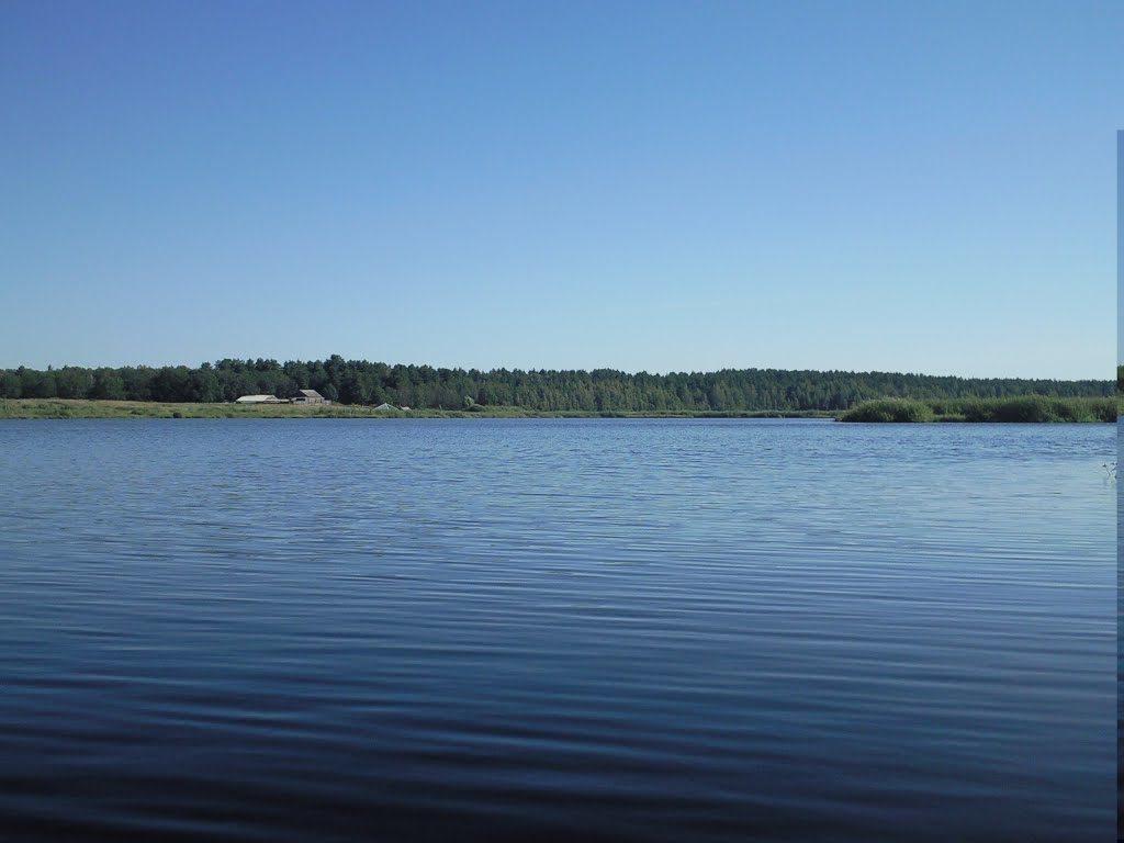 Ловля щуки на Моховом озере