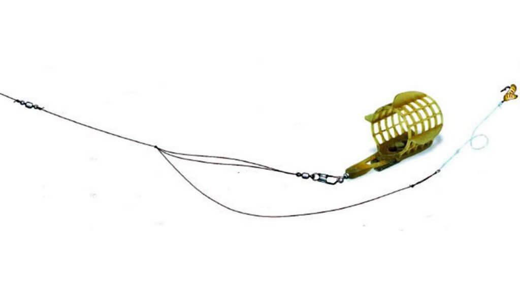 инлайн оснастка на плетенке