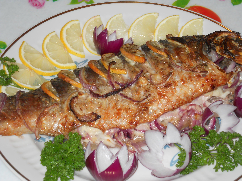 Рыба карп в духовке в фольге рецепты с