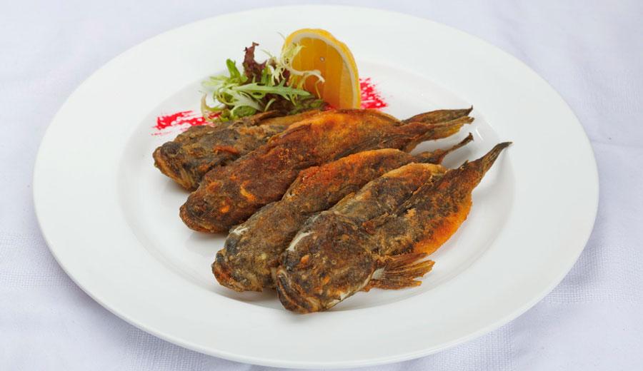 Рыба-ротан запеченая
