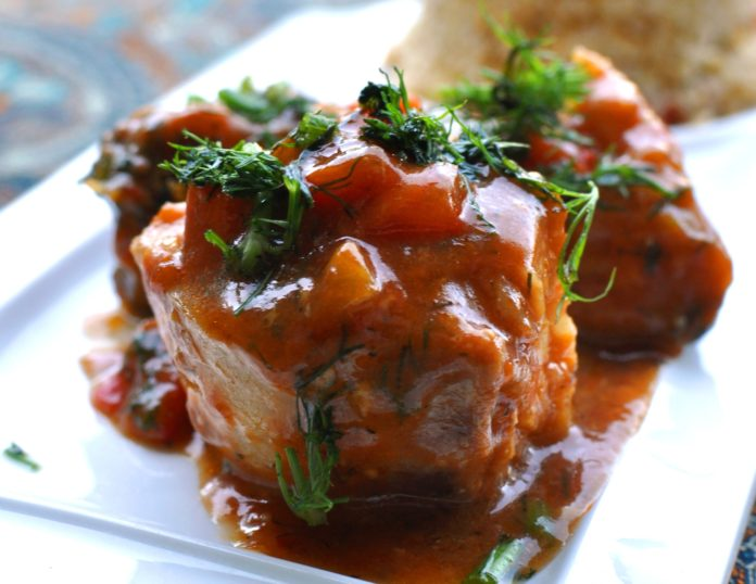 Рецепт рыбы по-мароккански