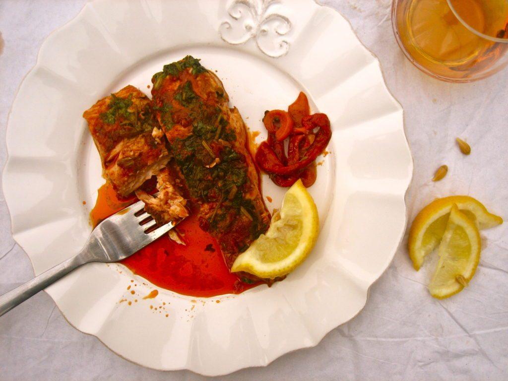 Готовим рыбу по-мароккански