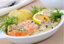 Нежнейшая рыба в сметанном соусе