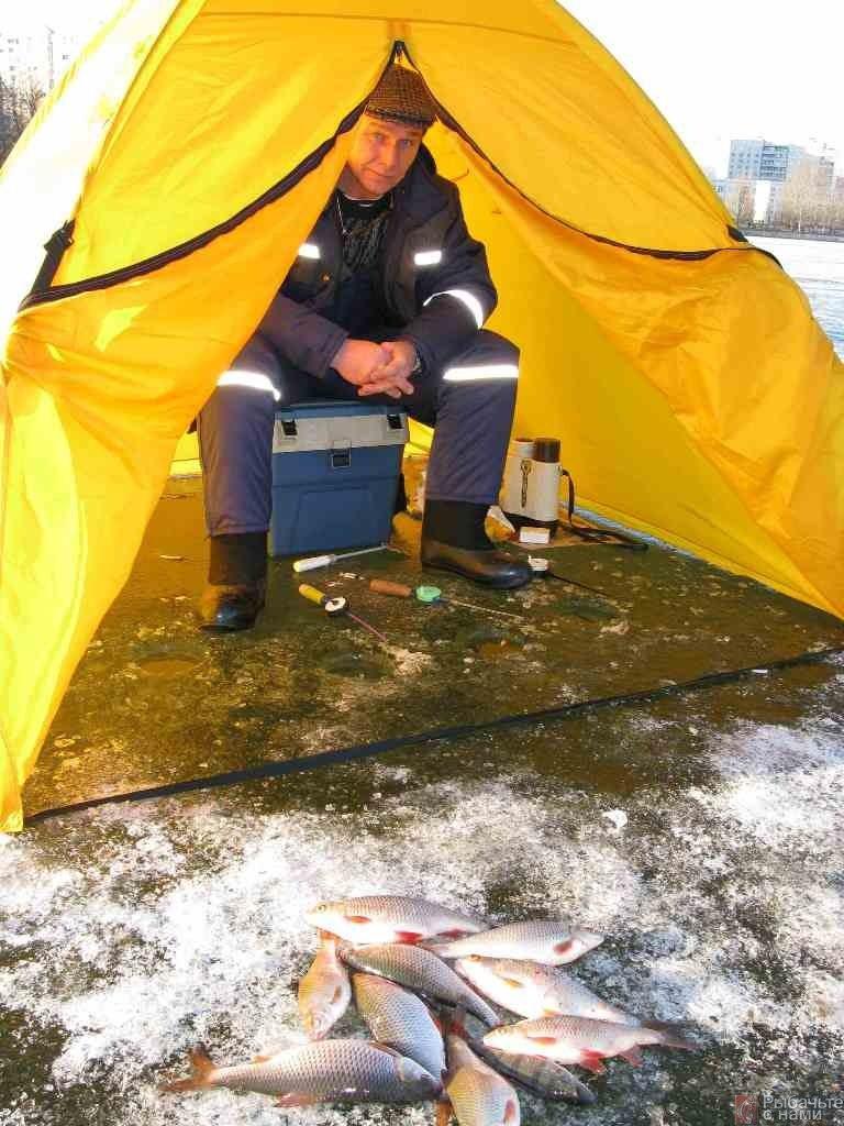 Зимняя ловля густеры