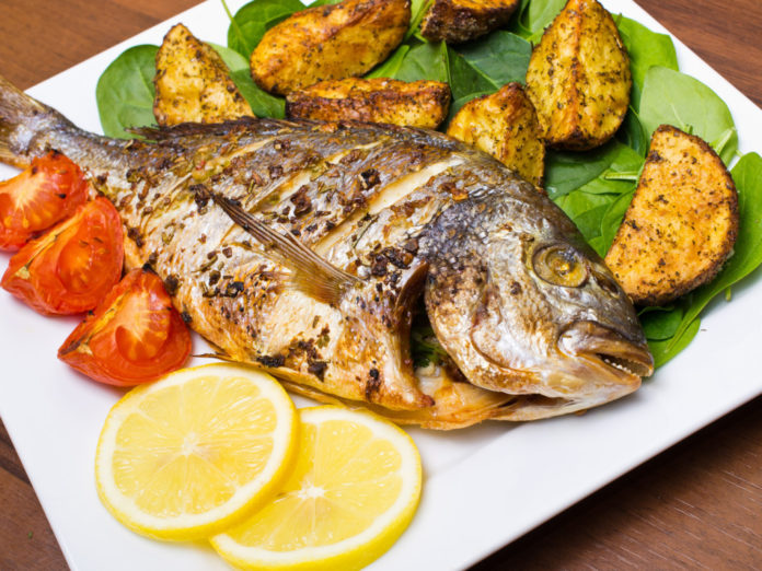 Рецепт из рыбы дорадо