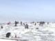 В Ленинградской области спасли дрейфующих на льдине рыбаков