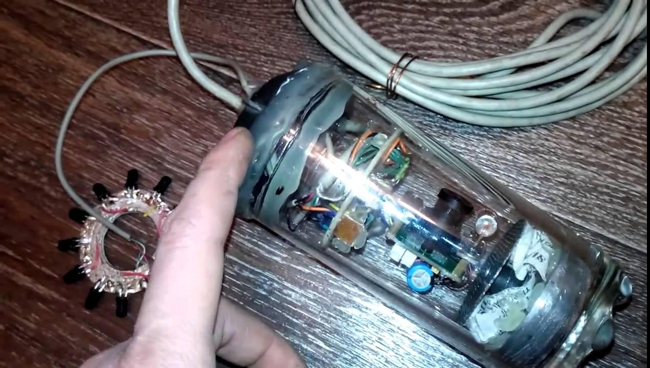 Как сделать подводную камеру фото