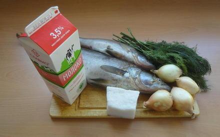 что нужно для тушёной рыбы по-эстонски
