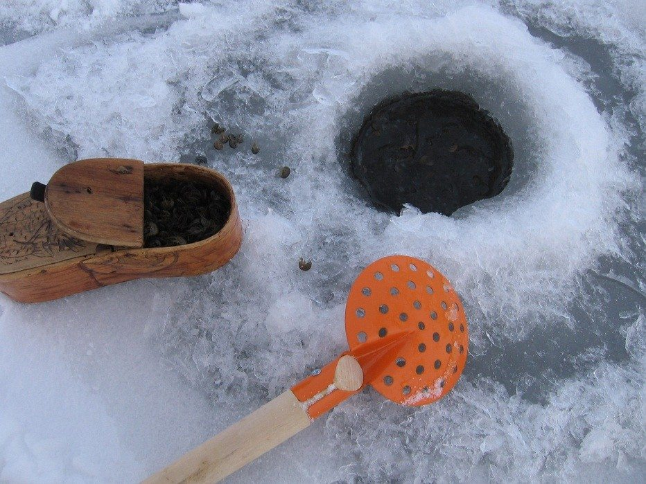 как собрать мормыша зимой