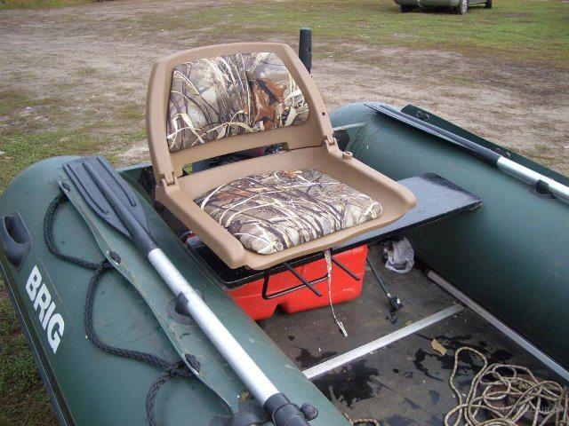 каркасное кресло для лодки