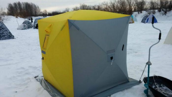 палатка куб