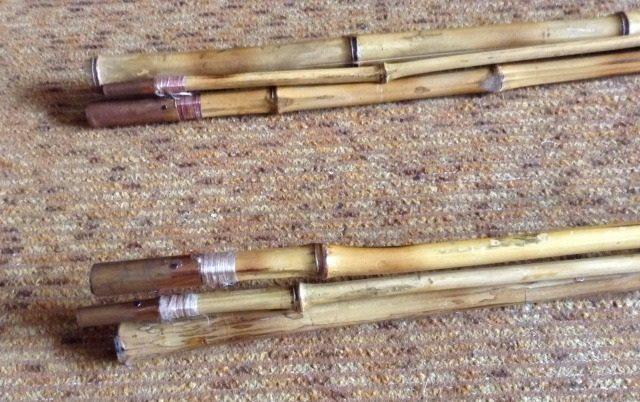 Бамбуковые удилища