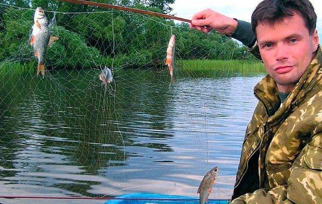 Использование рыболовного экрана