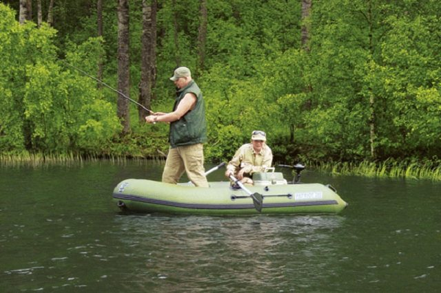 ПВХ лодка для рыбалки