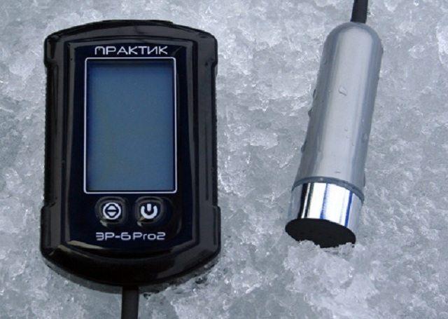 Электронный глубиномер для зимней рыбалки