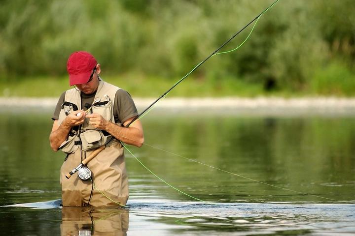 Профессиональный рыбак