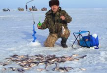 зимняя рыбалка миниатюра