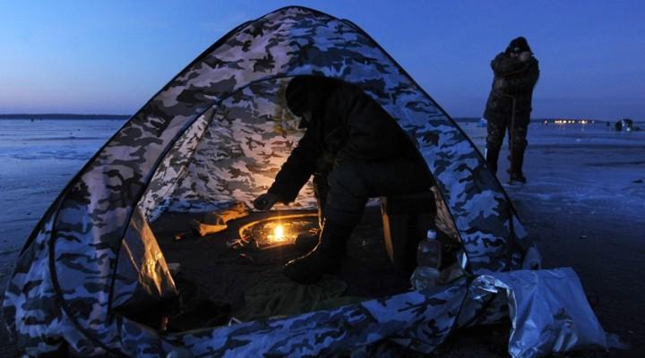 Ночлег на ночной рыбалке