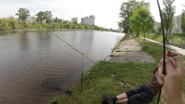 Рыбалка на канале