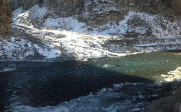 Отчет о рыбалке: Симбиризхеви, река
