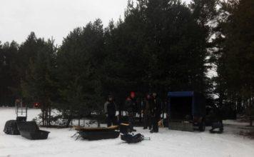 Отчет о рыбалке: 04 января 2018 — 07 января 2018, Волга (Горьковское водохранилище)