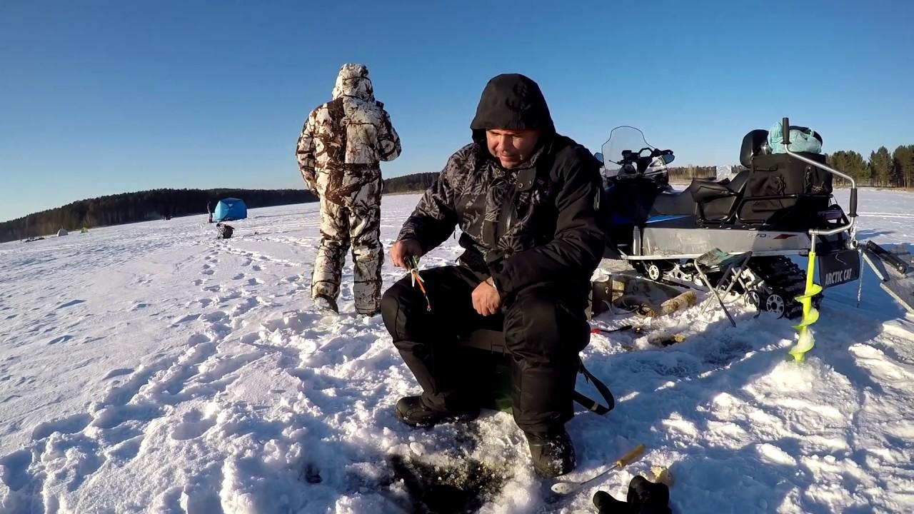 Рыбалка на курме зимняя