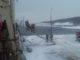Спасатели походила на и МОИ работали совместные действия во время пожара на лодке