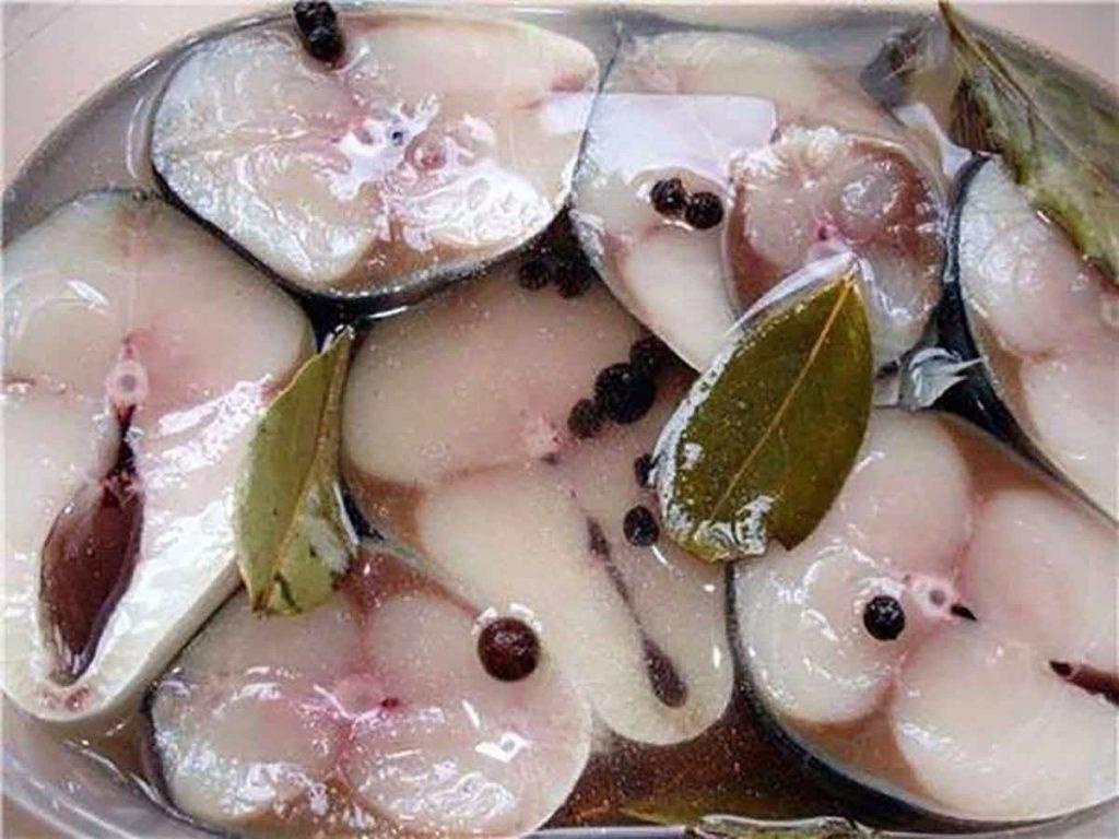 Рыба в водке